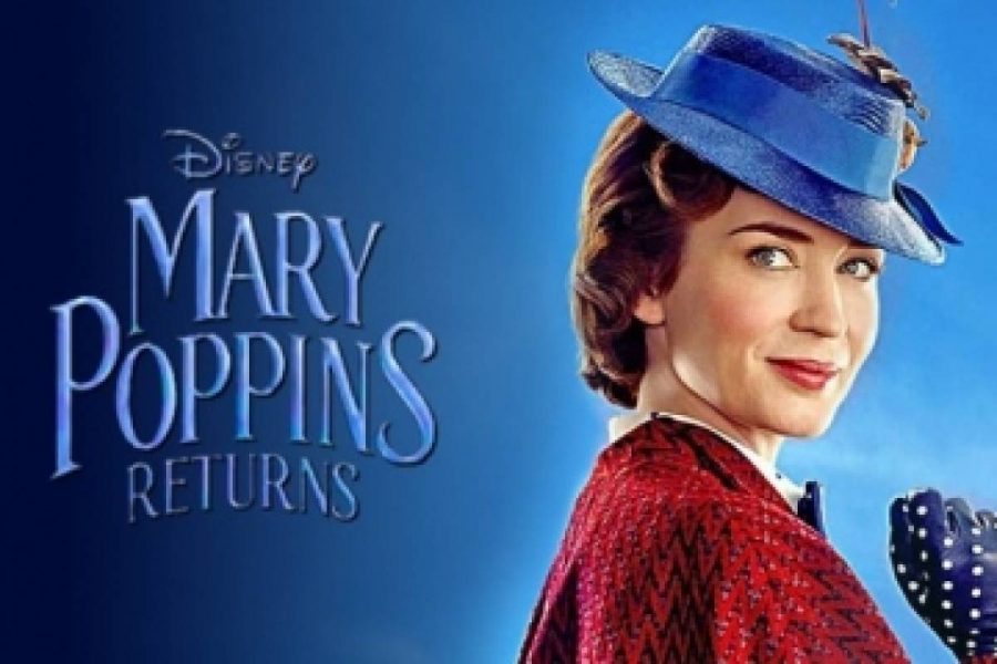 Forsta trailern for nya mary poppins