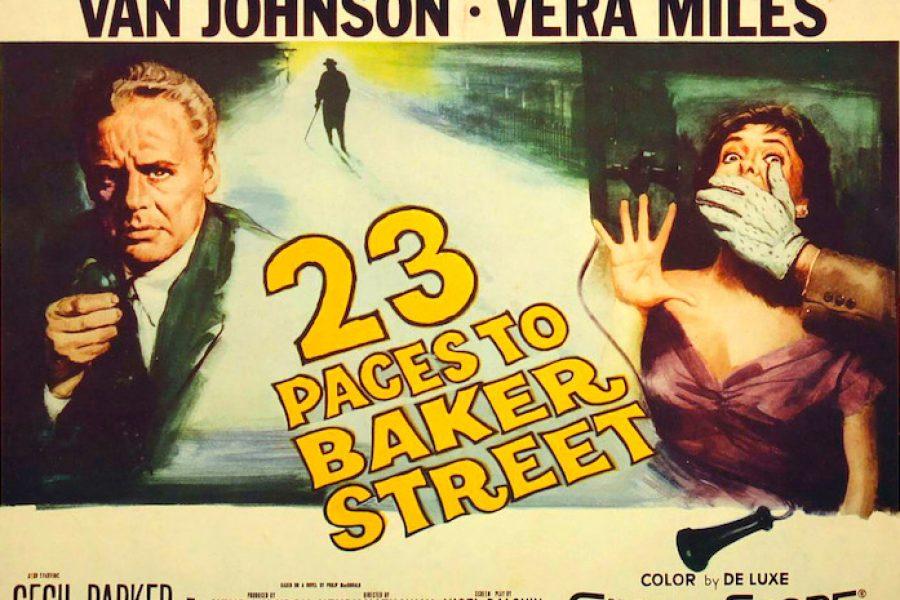 A 23 PASOS DE BAKER STREET (1956)