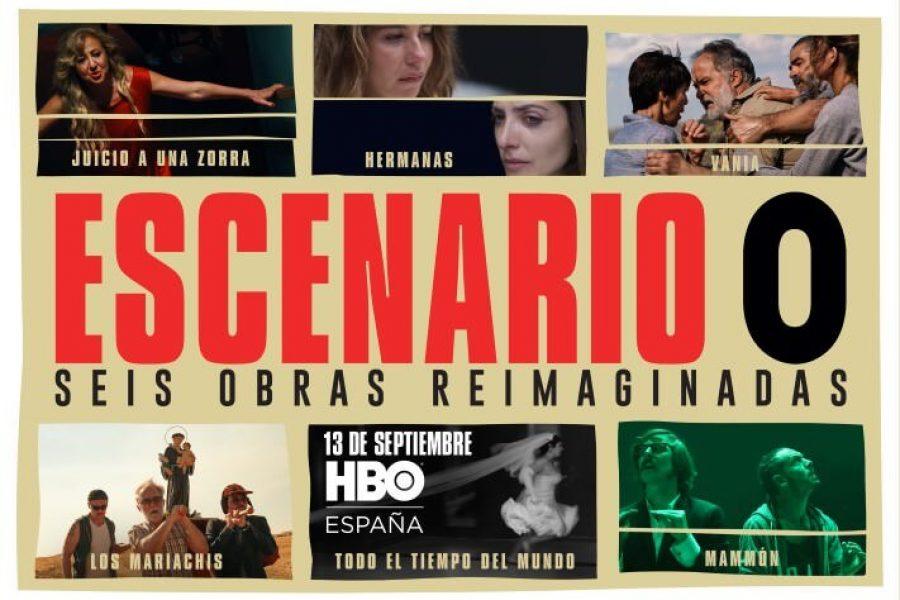 """'ESCENARIO 0' """"REIMAGINA"""" OBRAS DE TEATRO PARA TELEVISIÓN"""